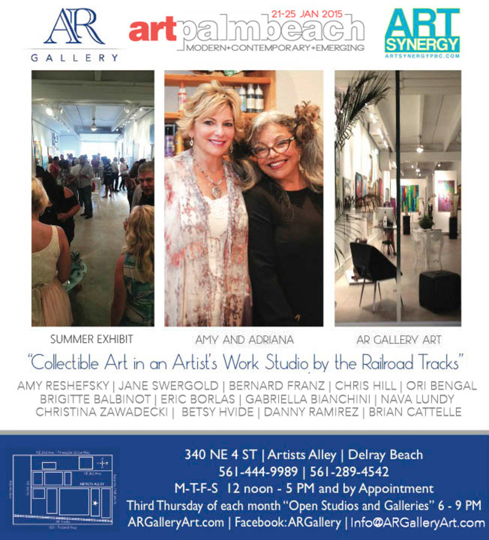 AR Gallery IVITE for Synergy Art Palm Beach 2015 960