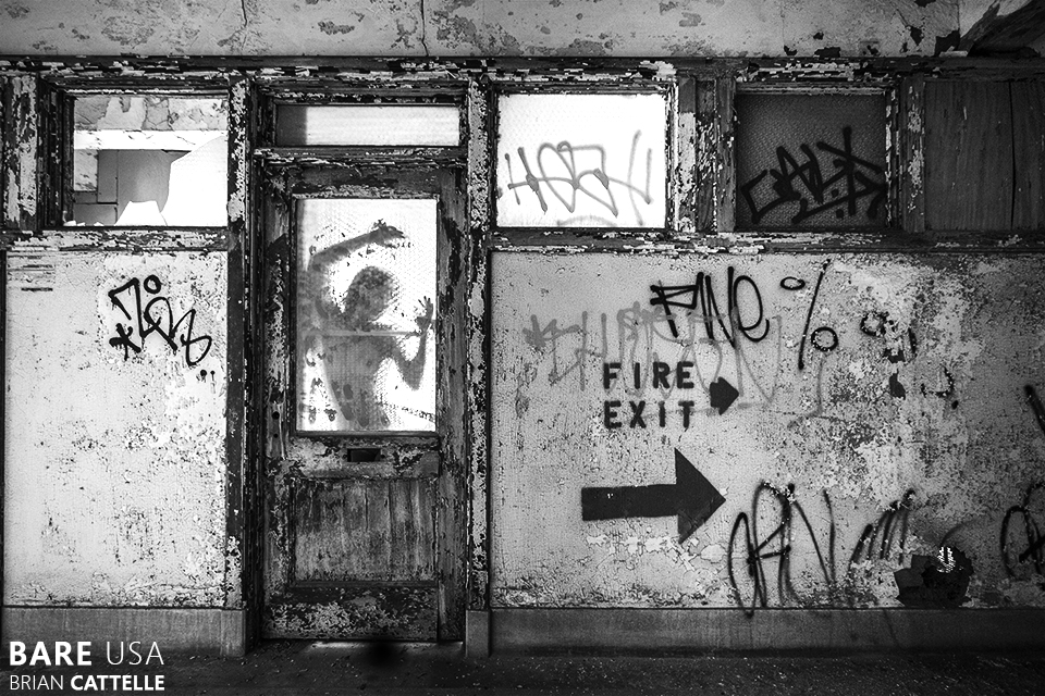 Abandoned Beury Building in Philadelphia Pennsylvania